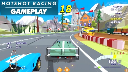 Hotshot Racing - Gameplay