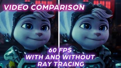 Ratchet & Clank: Una Dimensión Aparte - Comparativa Modo Rendimiento y Modo Rendimiento TR