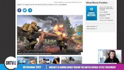 GRTV News - Ubisoft pasa a Ghost Recon por el filtro battle royale