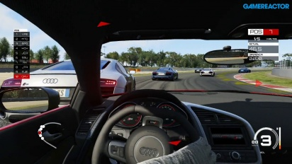 Assetto Corsa - Gameplay Xbox One con Audi R8 en Barcelona