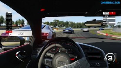Assetto Corsa - Gameplay Xbox One con Audi R8 en Barcelona