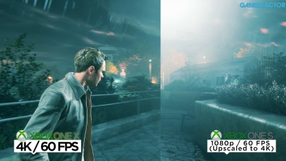 Quantum Break - Vídeo comparativa 4K Xbox One X vs S