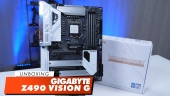 Gigabyte Z490 Vision G - Unboxing