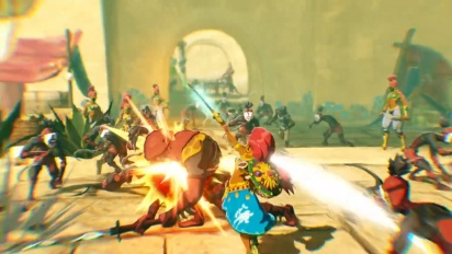 Hyrule Warriors: La era del cataclismo - Una historia que precede cien años a Breath of the Wild