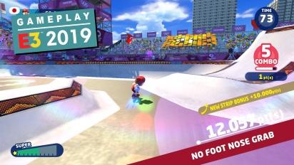 Mario & Sonic en los Juegos Olímpicos: Tokio 2020 - Gameplay E3 2019