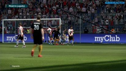 Pro Evolution Soccer 2017 - Gameplay PES 2017 partido completo Atlético Madrid - River Plate