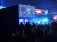 The crowd roars at DreamHack, Leipzig 2017