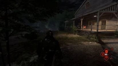 Friday the 13th: The Game - Fleeing Accident Gameplay