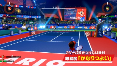 Mario Tennis Aces - Gameplay japonés