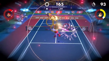 Mario Tennis Aces - New Ring Shot Mode Trailer