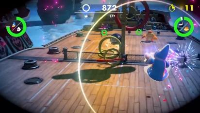 Mario Tennis Aces - Tráiler del Nuevo modo Tiro a los aros