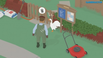 Untitled Goose Game - 15 munute gameplay