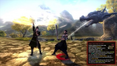 Age of Wulin - Lightning Demons Bane Staff Technique