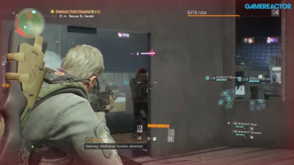 The Division - Gameplay PvE Personaje nivel 4