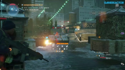 The Division - Gameplay PvE Personaje nivel 20