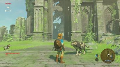 The Legend of Zelda: Breath of the Wild - Wolf Link Amiibo Trailer