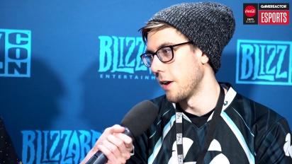 BlizzCon HGC Finals - Entrevista a Cattlepillar