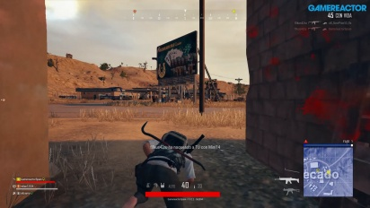 PlayerUnknown's Battlegrounds - Gameplay de PS4 en Miramar
