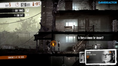 This War of Mine - Gameplay en Nintendo Switch en inglés