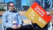 MWC19: SanDisk Extreme 1TB Micro SD Card - Entrevista a Ruben Dennenwalt