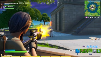 Fortnite - Gameplay de La Agencia en PS4