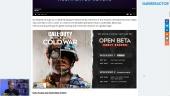 GRTV News -  Fecha de la beta y preview de Call of Duty: Black Ops Cold War