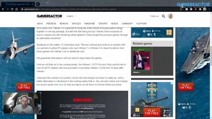 GRTV News - IO Interactive piensa cómo salvar Hitman 3