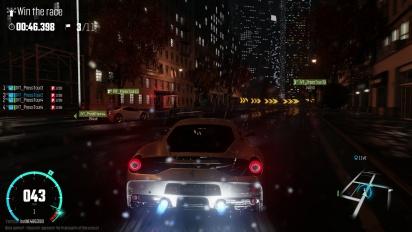 The Crew: Wild Run - Gameplay de noche y lloviendo por Nueva York