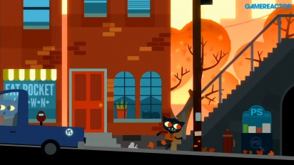 Gamereactor Plays - Night in the Woods on Switch