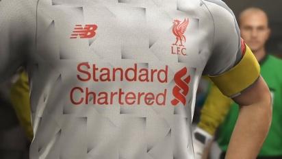 Pro Evolution Soccer 2019 - Anuncio tercera equipación del Liverpool