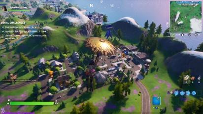 Fortnite - Gameplay en El Tiburón, La Plataforma y La Gruta en PS4
