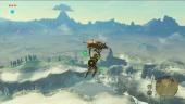 The Legend of Zelda: Breath of the Wild - Paraglider Gameplay