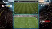 FIFA 18 vs PES 2018 - Cara a cara