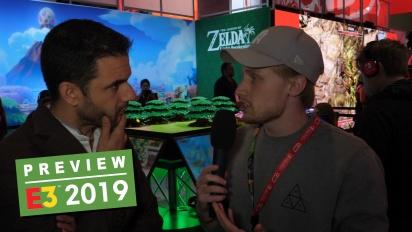 The Legend of Zelda: Link's Awakening - Preview en vídeo