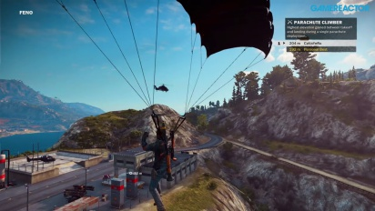 Just Cause 3 - Gameplay de juego libre y locuras en Xbox One Parte I