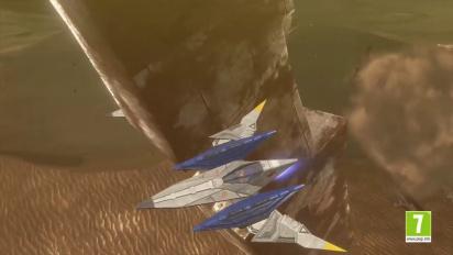 Star Fox Zero - Tráiler general español Escuadrón en Vuelo