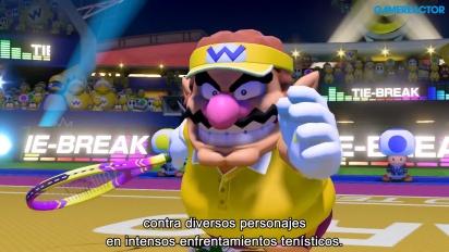 Mario Tennis Aces - Tráiler español Nintendo Direct Mini