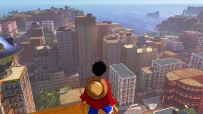 One Piece World Seeker - Tráiler de historia en español
