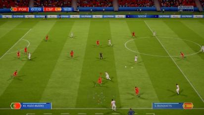 FIFA 18 World Cup Russia 2018 - Partido completo Portugal vs España