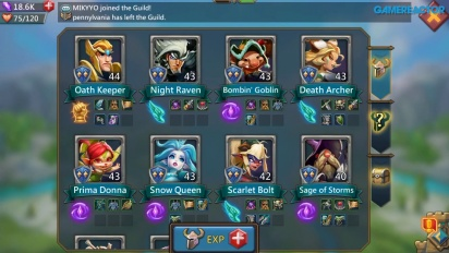 Lords Mobile - Una selección de 8 héroes