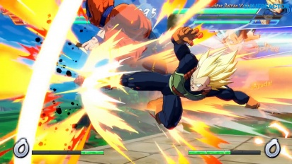 Dragon Ball FighterZ - Gameplay del modo 2P Versus en Nintendo Switch