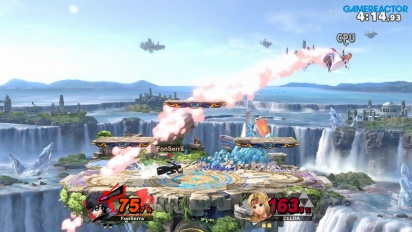 Super Smash Bros. Ultimate - Gameplay de Joker vs Zelda sin ítems