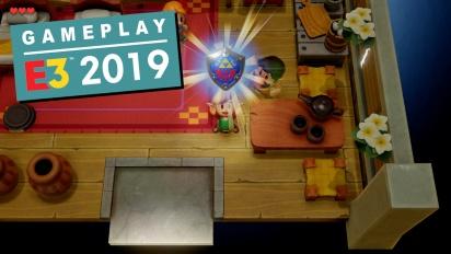 The Legend of Zelda: Link's Awakening - Gameplay exclusivo E3 2019