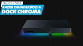Razer Thunderbolt 4 Dock Chroma - Quick Look