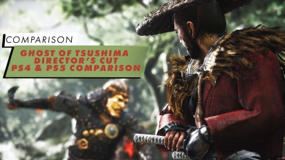 Ghost of Tsushima - Comparativa PS4 vs PS5