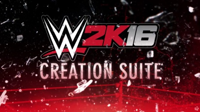 WWE 2K16 Creation Suite Trailer