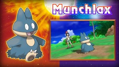 Pokémon Sol/Luna - Tráiler Obtén un Munchlax especial