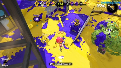 Splatoon 2 - Gameplay Pintazonas Equipo amarillo