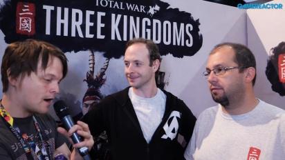 Total War: Three Kingdoms - Entrevista a Janos Gaspar y Simon Mann