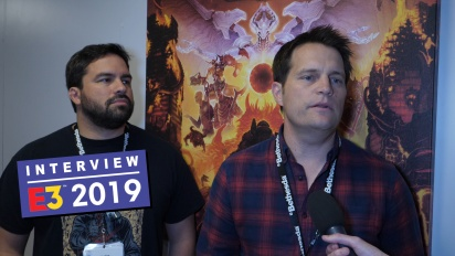 Doom Eternal - Entrevista a Marty Stratton y a Hugo Martin